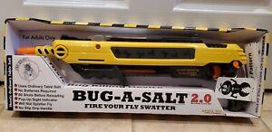 Bug-A-Salt 2.0 Yellow Salt Gun Fly Bug Pest BRAND NEW IN BOX - Free Shipping