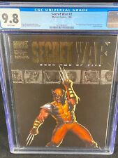 Secret War #2 CGC 9.8 2004 First Appearance of Quake Wolverine Cover A263