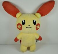 "Pokemon Plusle 10"" Tall Toy Plush Figure 2015 Tomy"
