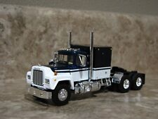 First 1st Gear 1/64 Blue White Mack Sleeper Model R Semi Truck Farm Toy