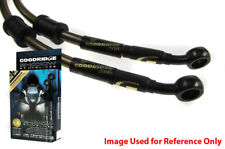 Goodridge RETURNS Glow For Suzuki GSX750W-K1 97-02 Front SS Braided Brake Lines