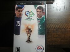 2006 FIFA World Cup (Sony PSP, 2006) - European Version