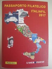 italia 2017 passaporto filatelico con 27 francobollo 6/10/2017 23/3/2018