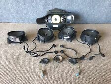 MERCEDES OEM W220 FRONT AND REAR BOSE AUDIO SOUND DOOR SPEAKERS BASE SUBWOOFER