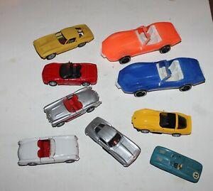 Corvette toys - Die cast - Slot - Plastic