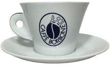 Caffé Borbone - Riesen Tasse - Zuckerschale weiss Porzellan Italien