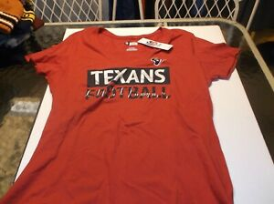 Houston Texans Women's NFL Team Apparel shirt XL