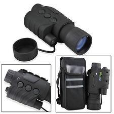 5x Monoculaire Numérique de Vision Nocturne Portée Infrarouge IR / RG-88