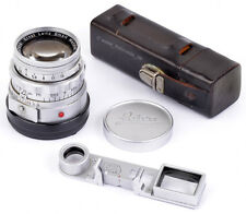 Leica Nah Summicron f=5cm 1:2 No.1447856 Leitz Wetzlar Germany COMPLETE & TOP !