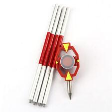 Alliage d'aluminium avec 4 poteaux NEUF MIni Prismes pour Leica STATION TOTALE +