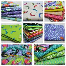 Free Spirit fabric material Designer Solids HOT ROSE pink 100/% cotton craft