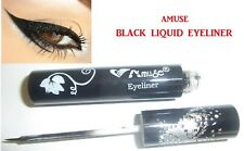 New AMUSE Black Waterproof Liquid Eyeliner Pen Full Size 11g