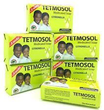 6 X Tetmosol Medicated Soap Citronella 75g Each