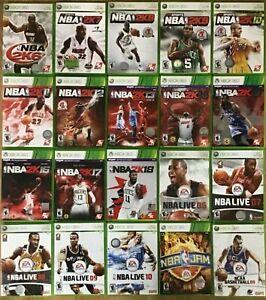 Basketball games (Microsoft Xbox 360)  TESTED NBA NCAA