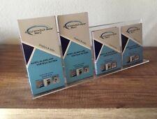 Mehrfach Flyerständer,Prospektständer für DIN LANG,1/3A4,DIN A6 und DIN A5 45 cm
