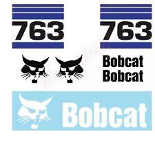 Bobcat 763 Skid Steer Set Vinyl Decal Sticker Free Shipping