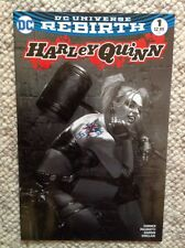 Harley Quinn #1 Rebirth Black & White Variant by Dell'Otto  Bulletproof NM.