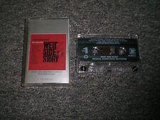 West Side Story~Original Soundtrack Recording~Cassette~Insert~FAST SHIPPING