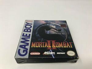Mortal Kombat II 2 - Nintendo Game Boy GB - Box Only - Great Shape