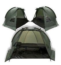 Carp Fishing Bivvy Day Tent Shelter 1-2 Man Fishing Bivvy + Ground Sheet, Pegs