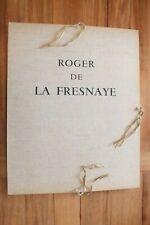 + Roger de la Fresnaye par Waldemar George- Collection Levy 3/8 - Mourlot 1968 +