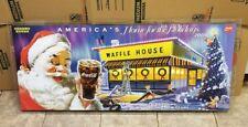 Rare Vintage WAFFLE HOUSE Restaurant Diner Sign Breakfast Food 2008 Santa