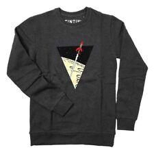 Sweatshirt The Adventures of Tintin: The lunar rocket - Dark Grey X-LARGE