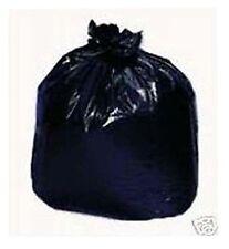 80~ 45 Gallon Black Ldpe Garbage Trash Can Liner Bags Waste Clean Up Storage