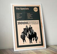 The Specials Print, The Specials Artwork, Album cover Print, Art Poster