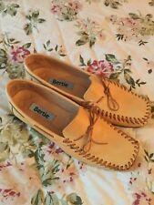 Rare Designer BERTIE Beige Leather Bow Detail Shoes-Uk 5/38-£130!