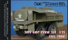 Czech Master 1/35 GMC CCKW 353 fuel tank conversion for Tamiya kit # 3019