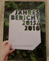 Jahresbericht Emil von Behring Gymnasium Spardorf 2015 2016 Behring Schule Buch