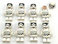 Lego 8 New First Order Stormtrooper Star Wars Minifigures Men Guard Figures