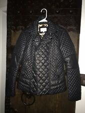 Laundry Shelli Segal Down Jacket Small Black Light Weight Quilted Puffer Jacket
