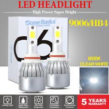 2PCS 9006 LED Headlight Bulb Kit Stone Banks 1780W 275000LM 6500K High Power HID