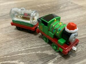 Take N Play Holiday Percy Train From Thomas The Tank engine Friends Christmas #2