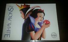 Disney store Snow White and the Seven Dwarfs 2016 Lithograph Portfolio Set of 4