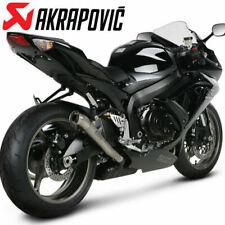Akrapovic Suzuki GSX-R600 2008-2009 Megaphone Titanium Slip-On Exhaust