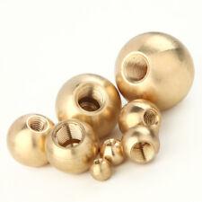 Brass Ball Ø 40 mm, M.Sackloch-Gewinde, M10x1