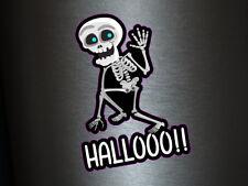 1 x adhesivo hallooo sticker Fun gag decal Stati tuning Ka-Boom Skull ill FBI