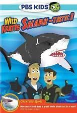 Wild Kratts: Shark-tastic (DVD, 2015)