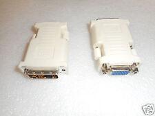 LOT OF 2 New Dell DVI - VGA/SVGA Cable Adapter - J8461