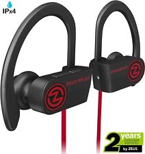 Bluetooth Headphones ZEUS SPORT OUTDOOR Wireless Earbuds Noise Cancelling HD