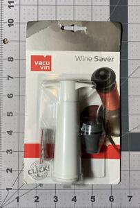 Vacu Vin Wine Saver Pump And Stopper