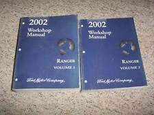 2002 Ford Ranger Pickup Truck Shop Service Repair Manual XL XLT Tremor Edge