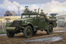Vehículos militares de automodelismo y aeromodelismo blancos de plástico