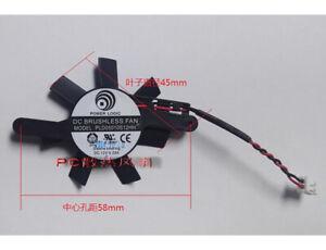PLD05010S12HH AMD Firepro W5000 video card Fan DC 12V 0.25A 2-Pin