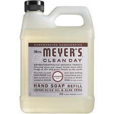 Mrs Meyer's  Liquid Hand Soap Wash Refill Lavender 33 fl oz