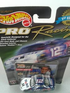 NASCAR Hot Wheels Pro Racing #12 Jeremy Mayfield Mobil 1 1:64 car - NIP