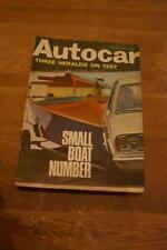 April Autocar Cars, 1960s Transportation Magazines